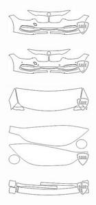 Lackschutzfolie Steinschlagschutzfolie Schutz-Set für Audi A4 S-line 2012-2015